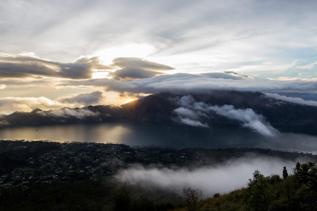 Východ na Batur