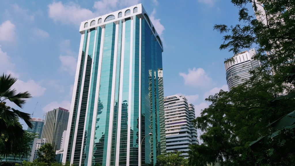 Mrakodrapy v Kuala Lumpur