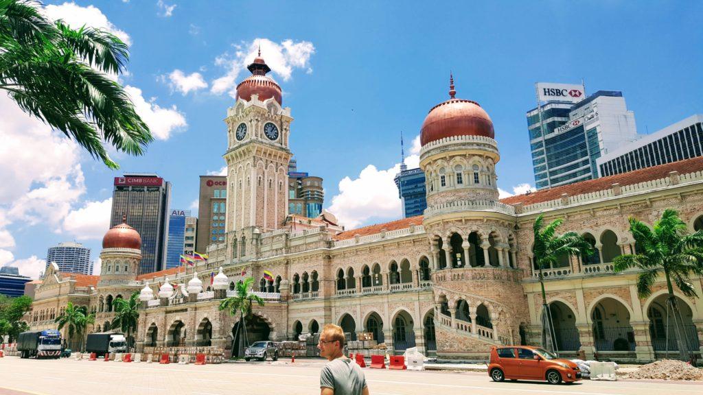 Britská koloniální architektura v Malajsii