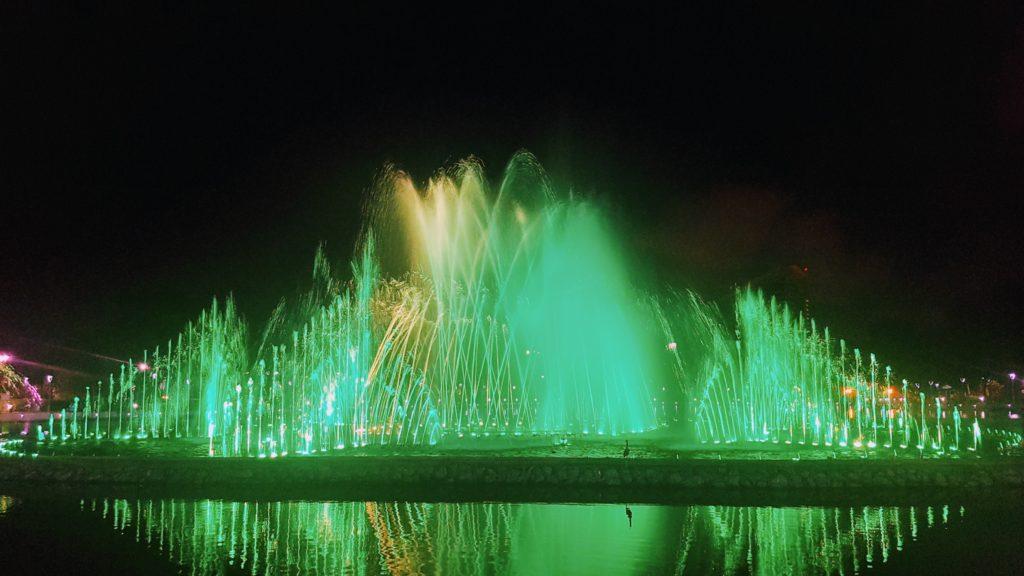 Perdana Park - hudební fontána